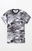 Rothco White & Black Camouflage T-Shirt