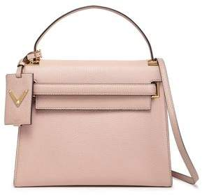 Valentino My Rockstud Textured-leather Tote