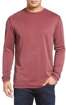 Bugatchi Men's Long Sleeve Crewneck T-Shirt