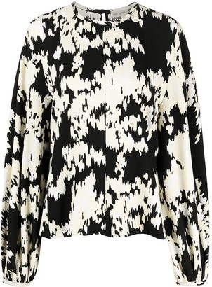 Stine Goya Dianne noise print top