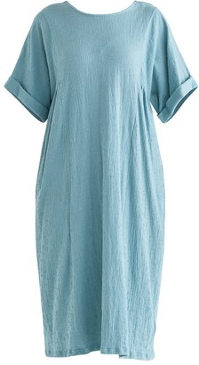 Paisie Selsey Relaxed Fit Dress In Teal