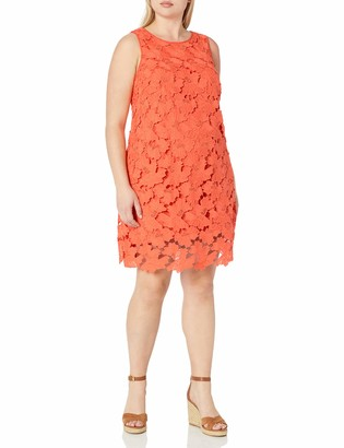 Julia Jordan Women's Plus-Size Lace Shift Dress