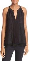 Joie Women's Eliska Embellished Halter Style Top