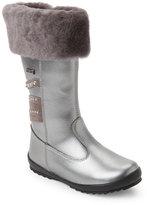 Naturino Toddler Girls) Silver Azalea Rainstep Waterproof Boots