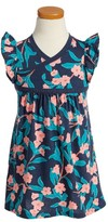 Tea Collection Toddler Girl's Bloomin' Wrap Neck Dress