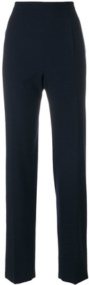 Moschino Pre Owned High Rise Tailored Trousers