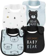 Carter's Baby Boy 4-Pack Print & Graphic Bibs