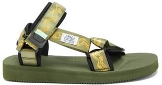 Aries X Suicoke Depa Cab Neoprene Sandal - Womens - Khaki