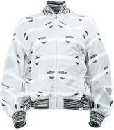 Anrealage printed bomber jacket