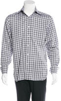 Tom Ford Plaid Woven Shirt