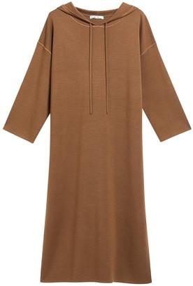 Max Mara Midi Hoodie Dress