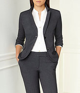 Calvin Klein Petite Notch-Collar Jacket