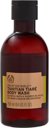 The Body Shop Spa Of The World Tahitian Tiare Bath and Shower Oil-In-Gel