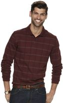 Van Heusen Men's Windowpane Classic-Fit Polo
