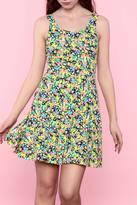 Hem & Thread Flower Spring Dress