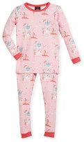 BedHead Unicorn-Princess-Print Pajama Set, Size 10-12