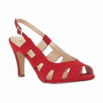 Lotus Women's Dakota Open Toe Heels
