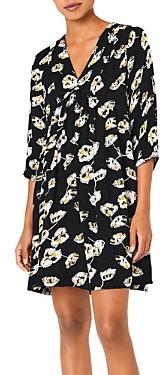 BA&SH ba & sh Uta Floral Print Shift Dress