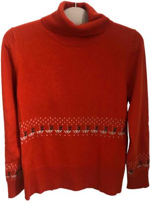 Orla Kiely Orange Wool Knitwear