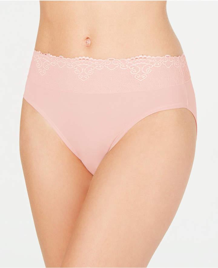 94de7d055d0 Sheer Hi-cut Panties - ShopStyle