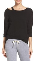 Monrow Women's Slash Lounge Sweatshirt