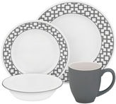 Corelle Urban Grid 16-pc. Dinnerware Set