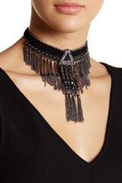 Stephan & Co Statement Fringe Choker