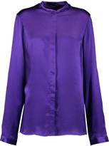 Haider Ackermann Classic silk blouse