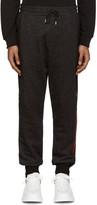 McQ by Alexander McQueen Black Logo Lounge Pants