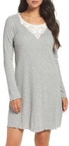 Lauren Ralph Lauren Women's Lace Neck Sleep Shirt
