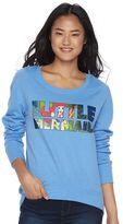 Disney Disney's Juniors' The Little Mermaid Graphic Fleece Sweatshirt