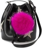 Les Petits Joueurs daliah star bucket bag - women - Polyurethane - One Size