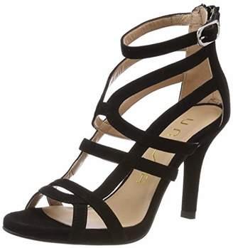 Unisa Women's Yesi_ks Gladiator Sandals, Black
