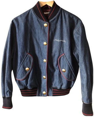 Miu Miu Blue Denim - Jeans Jacket for Women