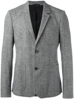 Carven single breasted blazer - men - Silk/Cotton/Polyamide/Virgin Wool - 52