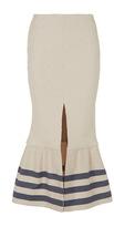 CHRISTOPHER ESBER Tailored Towel Ruffle Skirt