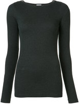 Brunello Cucinelli crew neck jumper - women - Cotton/Spandex/Elastane - S