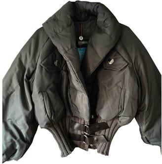 Pierre Cardin Green Polyester Coats