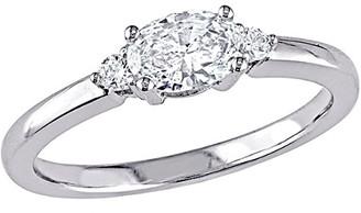 Diamond Select Cuts 18K 0.56 Ct. Tw. Diamond Engagement Ring