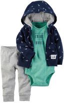 Carter's 3-Piece Babysoft Little Jacket Set