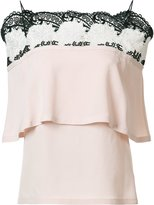 Yigal Azrouel off shoulder top - women - Silk - 0