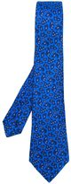 Kiton paisley print neck tie