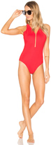 Alexander Wang Fish Line Detail One Piece