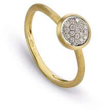 Marco Bicego Jaipur 18K Diamond Bezel Ring