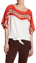 Laundry by Shelli Segal Printed Dolman Shirt