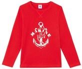 Petit Bateau Boys long-sleeved T-shirt with motif