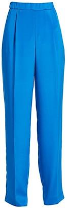 St. John Stretch Silk CDC Pull-On Pants