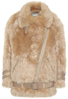 Acne Studios Shearling aviator jacket
