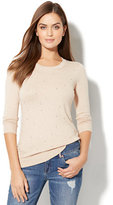 New York & Co. Waverly Crewneck Sweater - Embellished