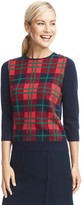 Draper James Mary-Lou Plaid Sweater